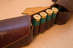 Ammunition belt Royalty Free Stock Photos