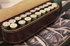 Ammunition belt Royalty Free Stock Images