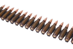 Ammunition belt Royalty Free Stock Image