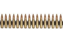 Ammunition belt Stock Photography
