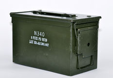 Ammunition box Stock Image