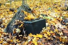 Ammunition Box Geocache Royalty Free Stock Image