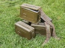 Ammunition Bullets. Stock Image