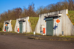Ammunition Bunker Stock Images