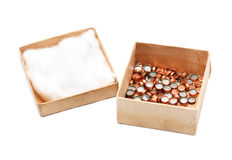 Ammunition Capsule Box Royalty Free Stock Photo