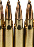 .308 Ammunition Royalty Free Stock Photo