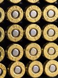Ammunition Copper Bullets Stock Photography