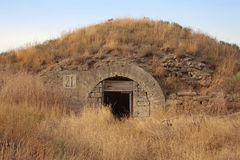 Ammunition depot in ancient fortress in Kerch Royalty Free Stock Photography