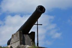 Ammunition. Historical places on the island of Khortytsya Stock Images