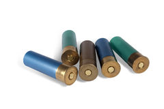Ammunition for hunting Royalty Free Stock Photos
