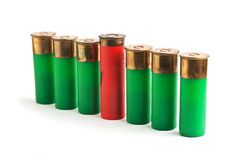 Ammunition for hunting rifles Stock Photography