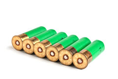 Ammunition for hunting rifles Royalty Free Stock Images