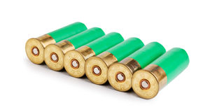 Ammunition for hunting rifles Stock Photo