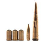 Ammunition isolated Stock Images