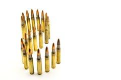 Ammunition for rifle Stock Image