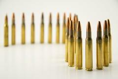 Ammunition for rifle Stock Photos