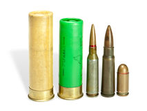 ammunitionar Arkivbild