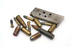 ammunitionar Arkivfoto