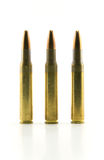 Ammunitions for rifle Royalty Free Stock Photo