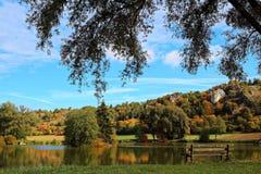 Aménagez en parc en parc naturel hltal de ¼ d'Altmà d'ici été indien de la Saint-Martin Image libre de droits
