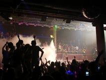 Amnesia del randello del partito, Ibiza immagine stock
