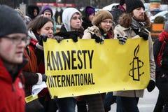 amnestiinternational Royaltyfri Foto