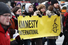 Amnesty International Royalty Free Stock Photo