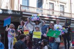 Amnesty International Chechnya Protest Royalty Free Stock Photos
