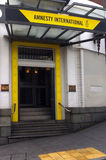 Amnesty International Headquarter Royalty Free Stock Images
