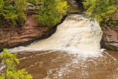 Amnicon Lower Falls Stock Photography