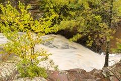 Amnicon Lower Falls Stock Photos