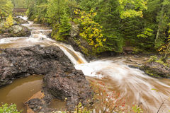Amnicon Snake Pit Falls royalty free stock images
