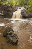 Amnicon Upper Falls Royalty Free Stock Photography
