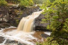 Amnicon Upper Falls Stock Photography