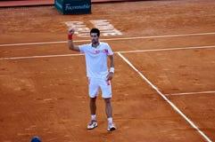 Amo 1 de Djokovic Monte Carlo Rolex Fotografía de archivo