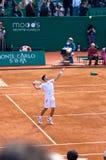 Amo 2 de Djokovic Monte Carlo Rolex Fotografía de archivo libre de regalías