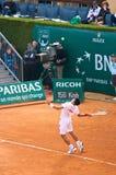 Amo 4 de Djokovic Monte Carlo Rolex Fotografía de archivo libre de regalías
