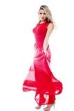 Amo ballare in questo vestito immagini stock