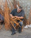 Amo de la cestería Fotografía de archivo libre de regalías