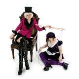 Amo de la marioneta Fotografía de archivo