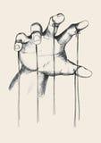 Amo de la marioneta Fotografía de archivo libre de regalías