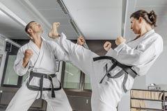 Amo de los artes marciales Fotografía de archivo