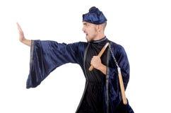 Amo de los artes marciales imagen de archivo libre de regalías