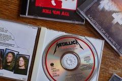 Amo de Metallica de las marionetas CD Fotos de archivo libres de regalías