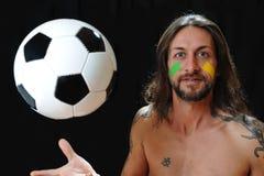 Amo fútbol Foto de archivo libre de regalías
