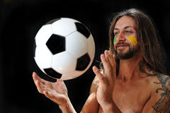 Amo fútbol Foto de archivo