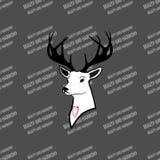 Amo fauna y le agradecerá ilustración del vector