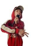 Amo hiphop Immagini Stock Libere da Diritti