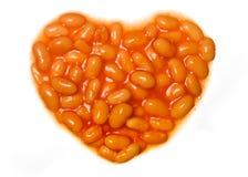 Amo i fagioli cotti Immagini Stock Libere da Diritti