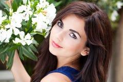 Amo i fiori Fotografie Stock Libere da Diritti